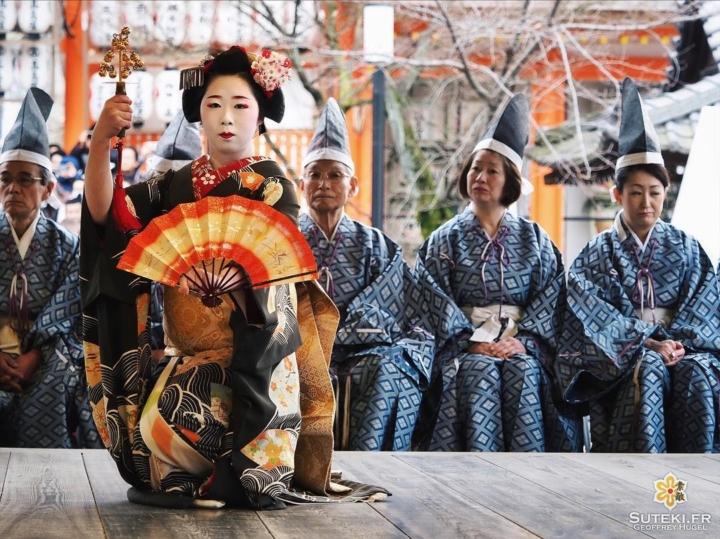 Une danse pour Setsubun