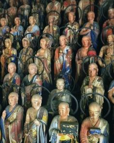 Les disciples de Bouddha