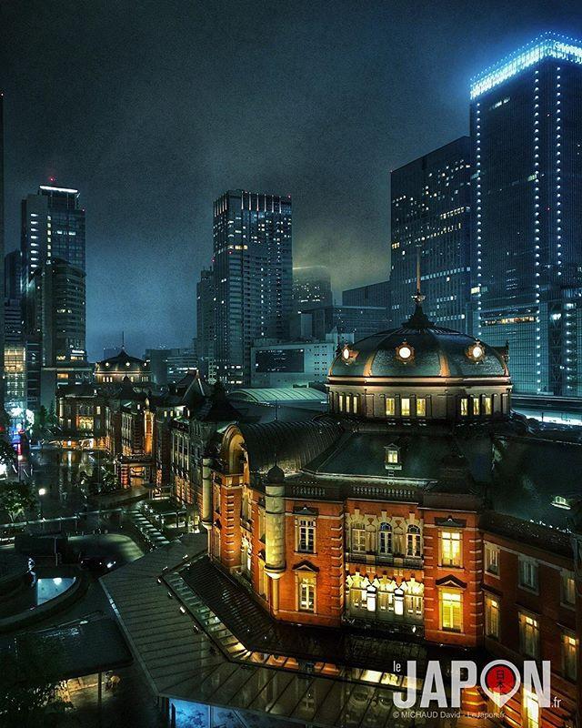 Rétro Style Blade Runner ! ☔️🌃 #bladerunner #Tokyo #TokyoSafari