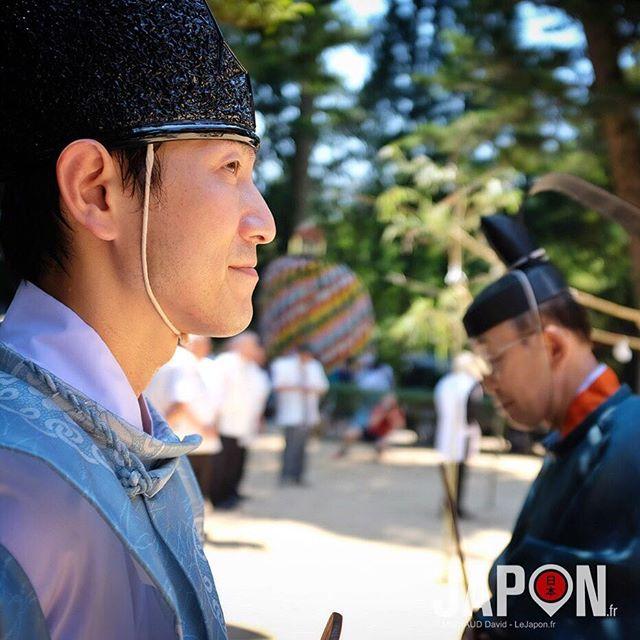 Le prêtre shinto ! 😑🙏🏻 #izumo #izumoexperience