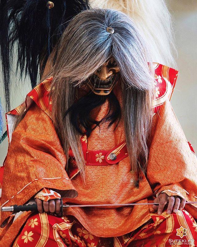Quelques instants avant les répétitions de théâtre Kagura #izumo #izumoexperience