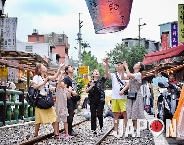 Les lanternes volantes à Taïwan pendant notre #taiwansafari