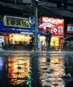 Osaka sous la pluie #osakasafari #japonsafari
