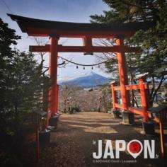 Hop hop hop ! Nouvelle série de photos avec le Fuji san 🙏🏻⛩🗻