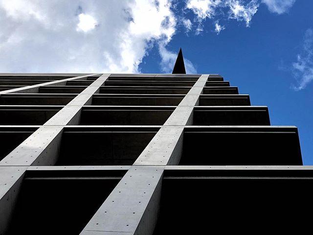 Le Chaska de Tadao Ando et sa pointe  #osaka #osakasafari #japonsafari #tadaoando #tadaoandoarchitecture
