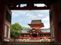 Le sanctuaire Iwashimizu Hachimangu est un des plus importants parmi ceux dédiés au Kami Hachiman. Ce type de shinto un peu particulier est étroitement lié à la famille impériale.  #japonsafari #kyotosafari