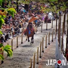 Yabusame (tir à l'arc à cheval) d'Asakusa était gratuit avant… Aujourd'hui il faut payer 2000¥ pour y avoir une place correcte…