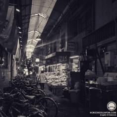 Une Shotengai (galerie marchande) d'un autre âge, vouée à disparaître un jour