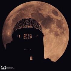 Ce soir c'est Chushu no Meigetsu (中秋の名月) ! La nuit de pleine lune et teintée.