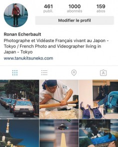 1K – Merci – Thank You – ありがとう – thanks for following me since many years now and hope you will be there for the next ones. You can also follow me on my new account about photography around the world here : @ronan.echerbault :) Thank you so much again!!