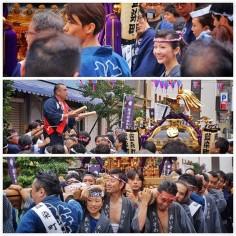 Tokyo en fête aujourd'hui ! #Matsuri #Tokyo #TokyoSafari