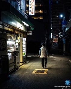 La lumière arrive souvent des magasins d'alcool