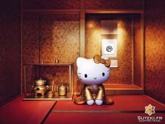 Golden Kitty Teahouse #japon #kyoto #kyotosafari