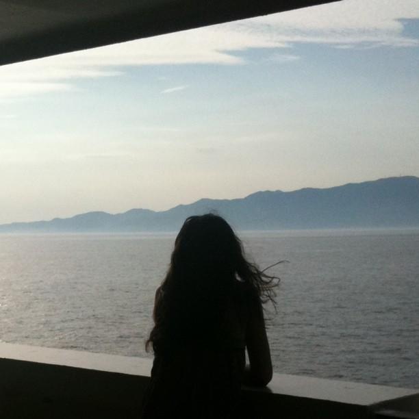Je trouve toujours que les traversées à bateau ont un côté romantique…