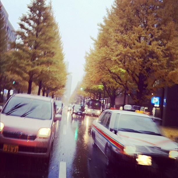 Retour à Sendai