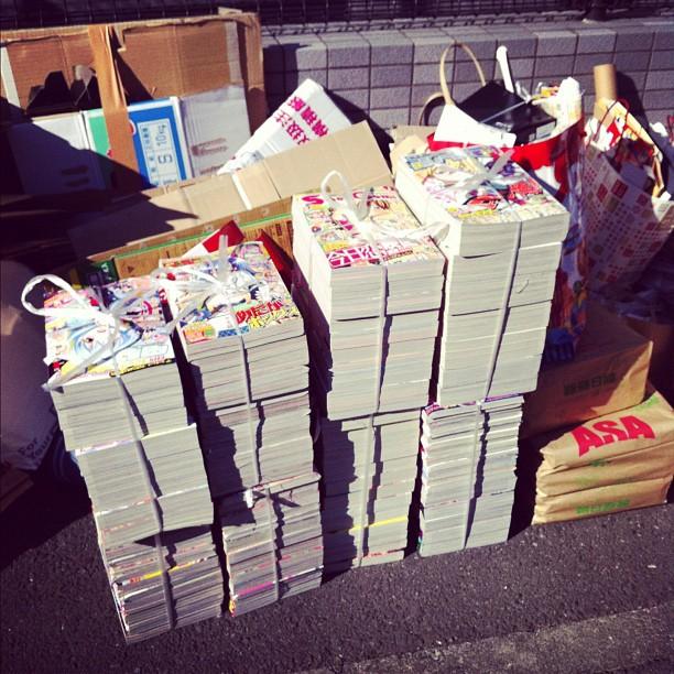 Il vous manque un Weekly Jump dans votre collection ? Aujourd'hui c'est ramassage du papier !
