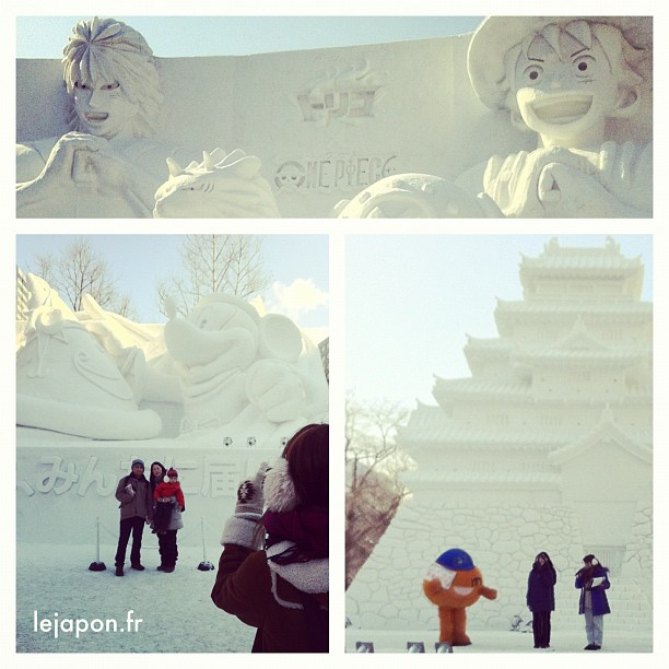 Snow Festival de Sapporo avec @Daniel_VLJ