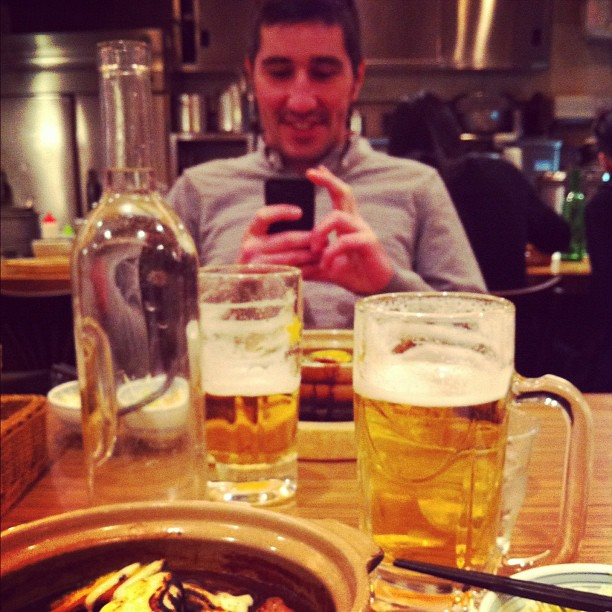 Cross-twiting-fooding avec @Daniel_VLJ à Sapporo