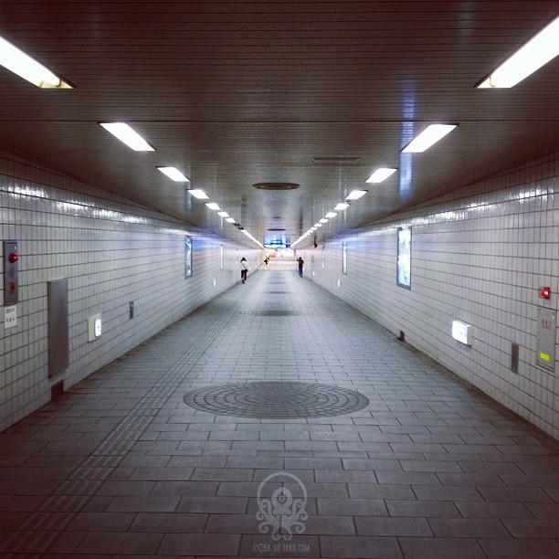 Le souterrain, une autre composante du Japon.