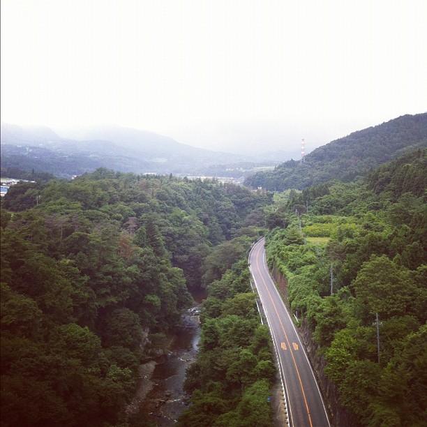 Au centre du Japon…