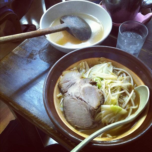 Chaque ville a son Ramen… À Niigata c'est Miso Ramen