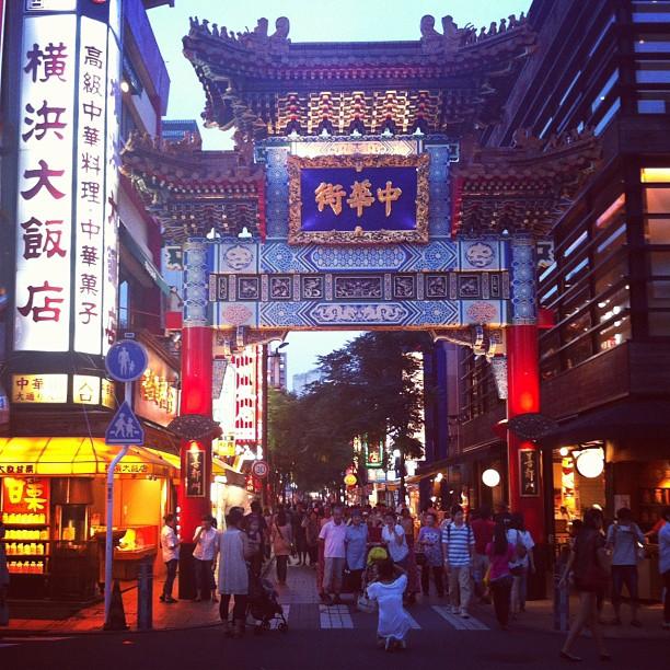 Vous avez déjà essayé les p'tits resto du Chinatown de Yokohama ? Il y en a des bien sympa !
