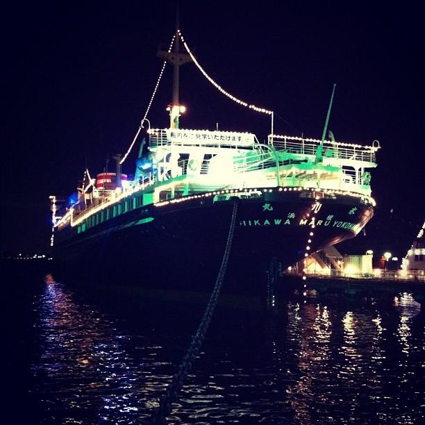 Hikawa Maru by Night