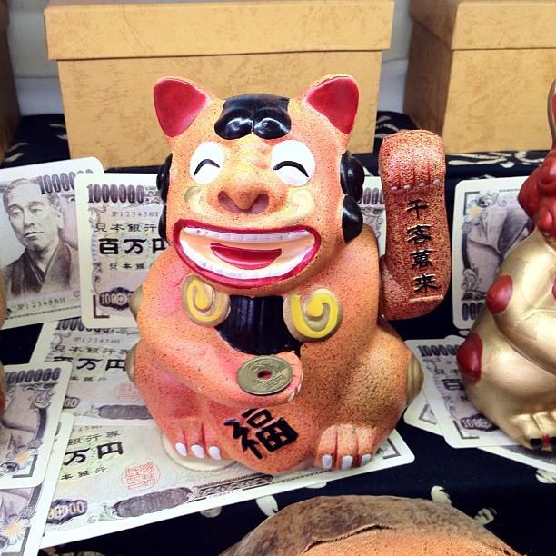 Manekineko d'Okinawa
