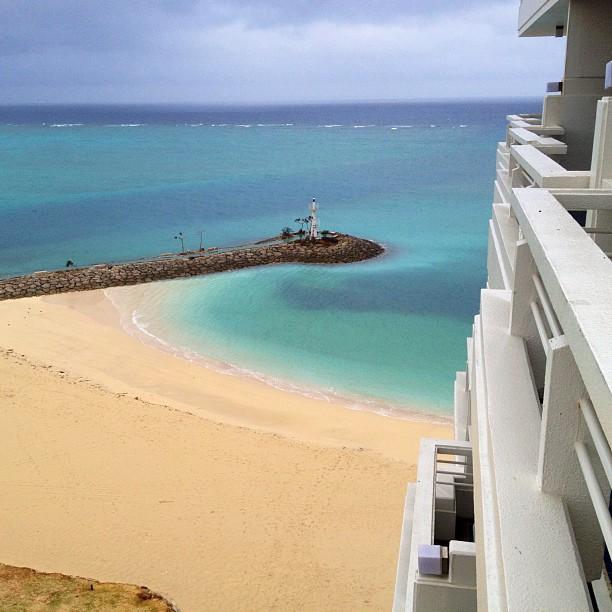 Paysage au réveil, vue depuis la chambre d'hôtel