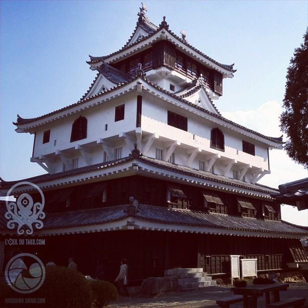 Et voici donc l'Iwakuni-jō