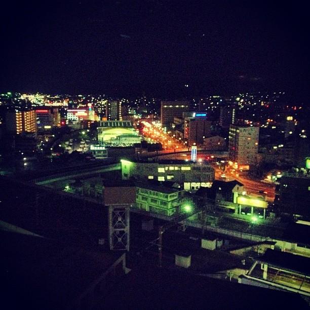 Okayama by Night