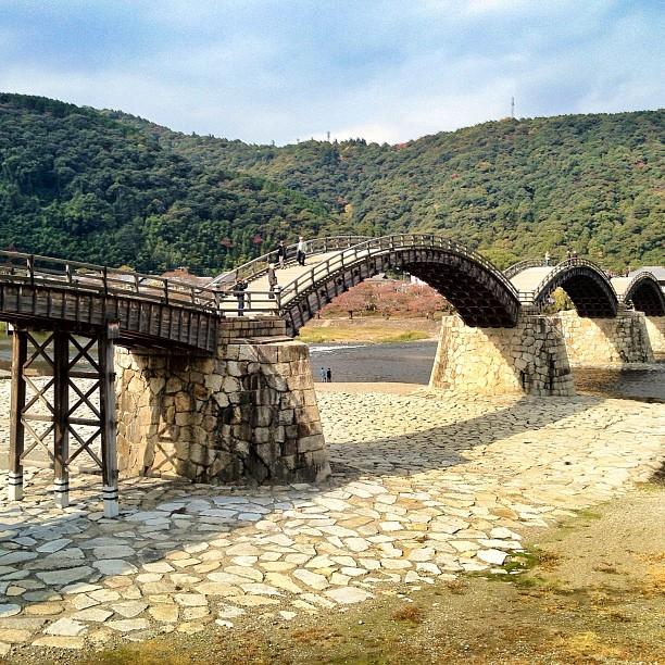Le pont en arche Kintaikyo