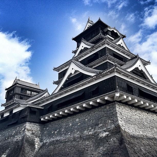 Le très beau château de Kumamoto