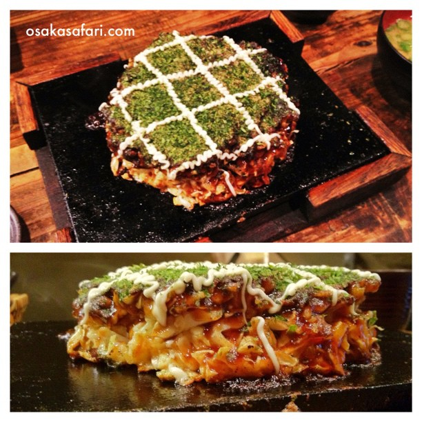 Okonomiyaki Made in Osaka