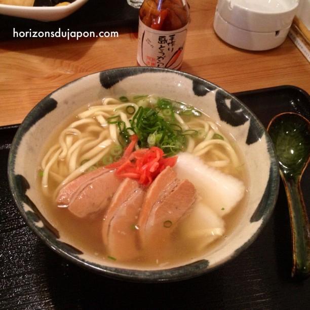 Aujourd'hui à midi c'est Okinawa Soba !