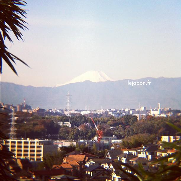 #fujireport : Ah ça fait du bien d'avoir enfin une météo hivernale nipponne avec son ciel bleu magnifique !