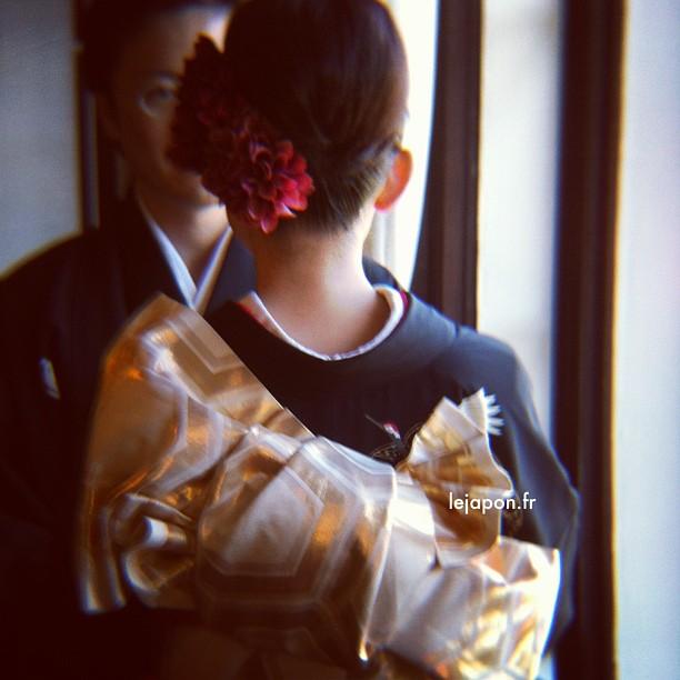 L'endroit où j'exposerais début Février est aussi un célèbre spot photo pour jeunes mariés ;)