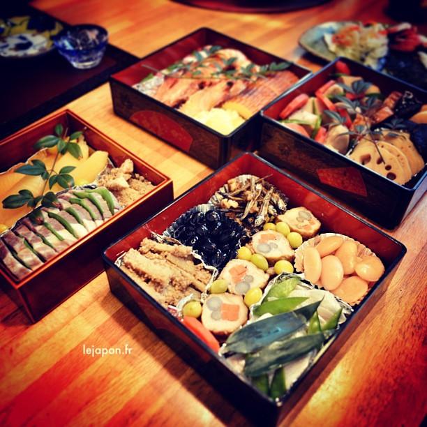 Le repas du nouvel an nippon, c'est au petit déjeuner que l'on y a droit !