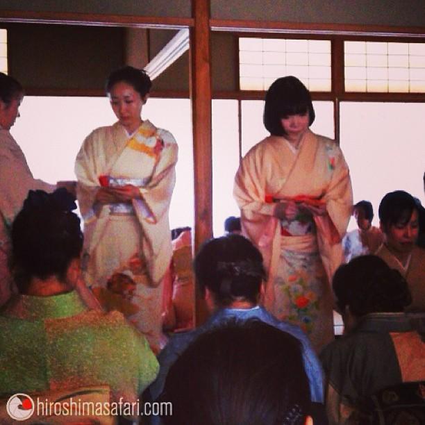 Un dimanche zen à Hiroshima. Cérémonie du thé. Et vous?