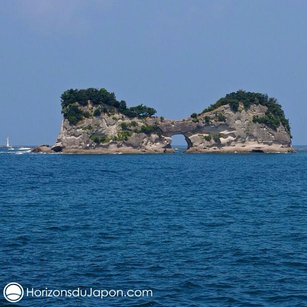 L'île de Entsukijima près de Shirahama
