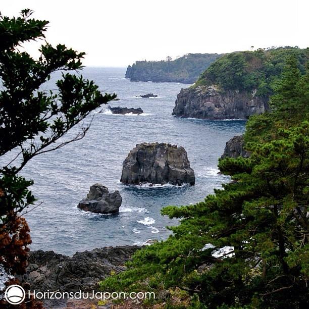Le littoral escarpé de Jogasaki