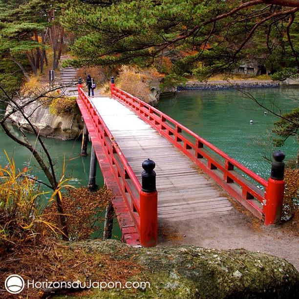 Un pont à Matsushima