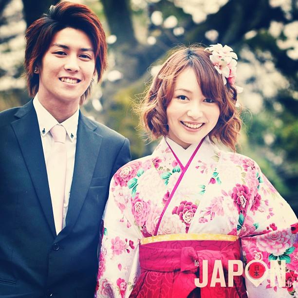 Rencontre avec Akane chan et Kazuki kun sous les Sakura.