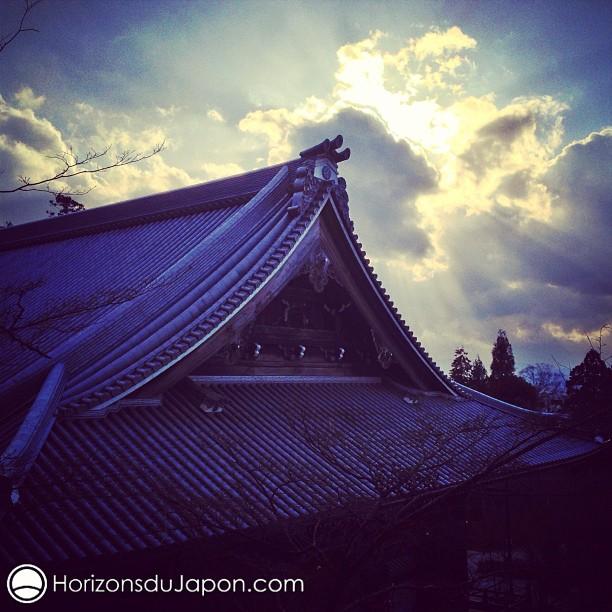 Soleil couchant sur le Eikando
