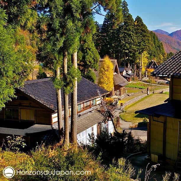 Les somptueux villages de Gokayama