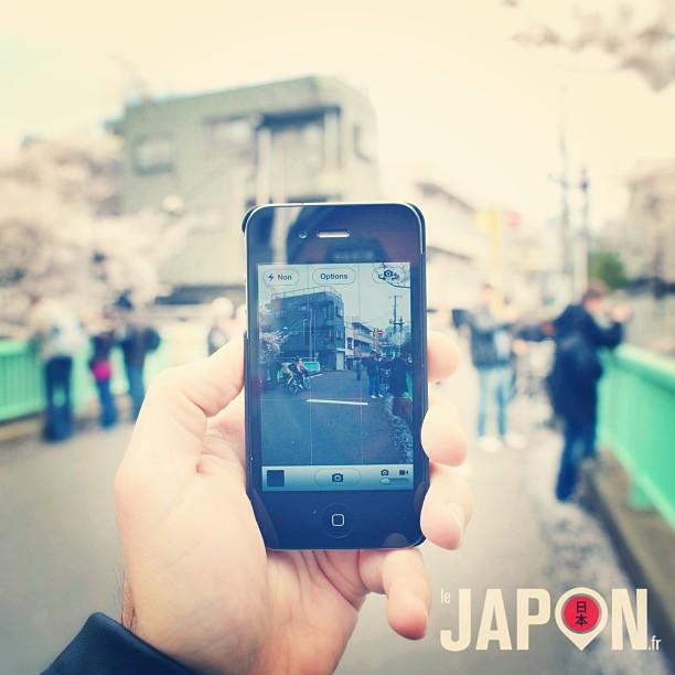 Peu importe l'appareil, on assure pour les spots photos Sakura ;) Japon Safari
