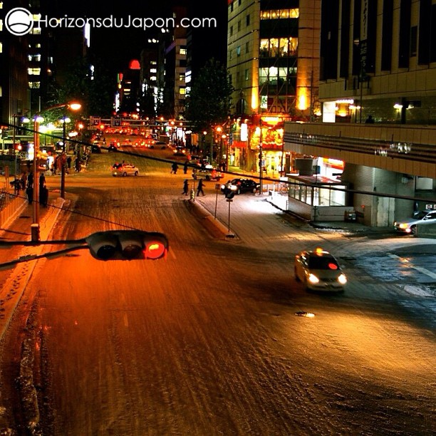 Sapporo by Night