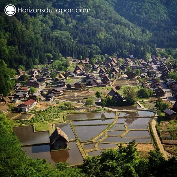 Sur les hauteurs de Shirakawa-go
