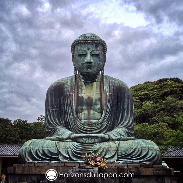 Le Bouddha de bronze de Kamakura