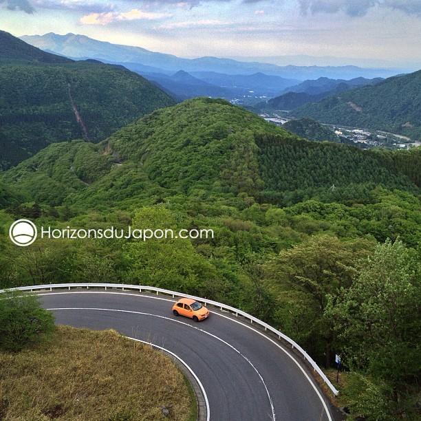 1er jour sur les routes japonaises pour une semaine de guidage en voiture